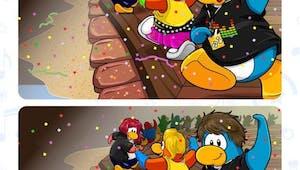Club Pinguin : jeu des 7 différences
