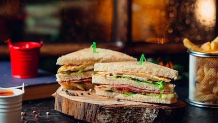 Club sandwich, un classique des pique-niques en famille