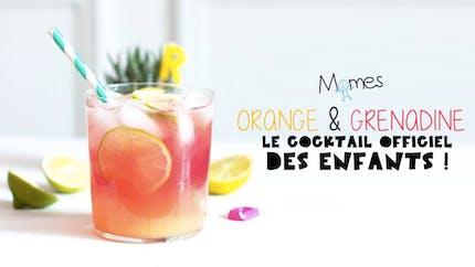 Cocktail Orange Grenadine
