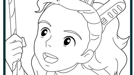 Coloriage Arrietty 4
