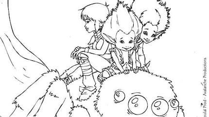 Coloriage Arthur et les Minimoys 3