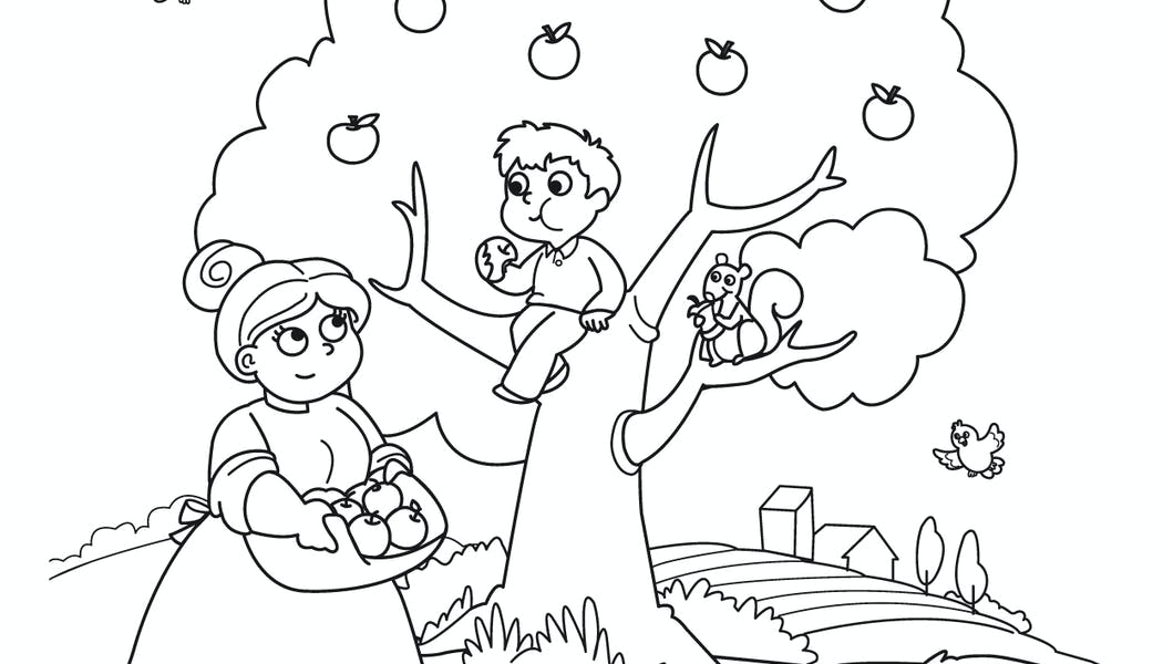 Coloriages jardin | MOMES.net