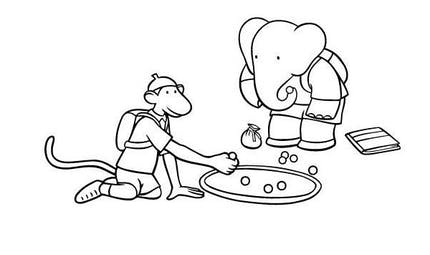 Coloriage Babar (4)