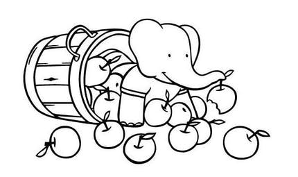 Coloriage Babar (7)