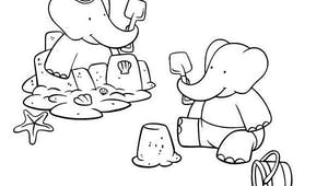 Coloriage Babar (9)