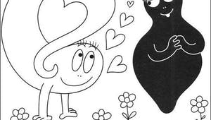 Coloriage Barbapapa 2