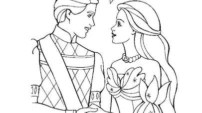 Barbie et son prince