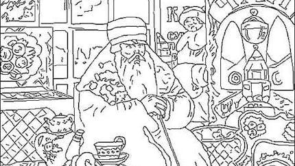 Coloriage Boris Kustodiev [1878 - 1927]