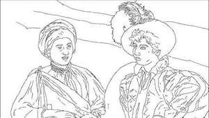 Coloriage Caravaggio (1573-1610)
