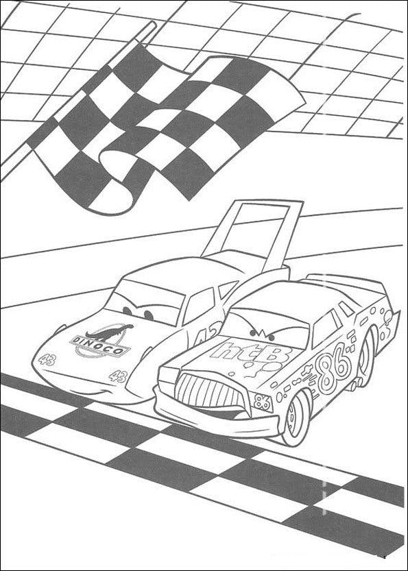 Coloriage Cars 2 Momes Net