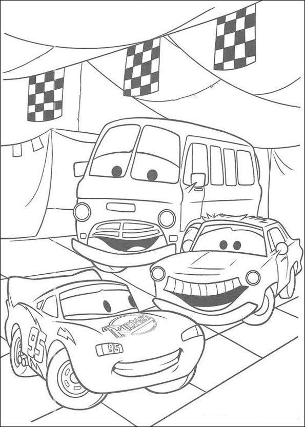 Coloriage Cars 3 Momes Net