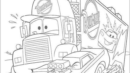 Coloriage Cars 5