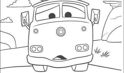 Coloriage Cars 8