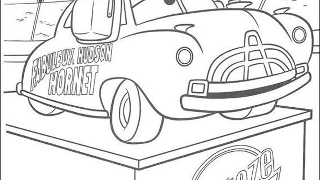 Coloriage Cars 9