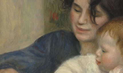 Coloriage d'après Renoir