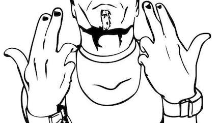 Coloriage de Catch - Jeff Hardy