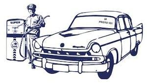 Coloriage voiture américaine