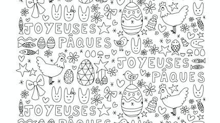 Coloriage de Pâques par AstridM