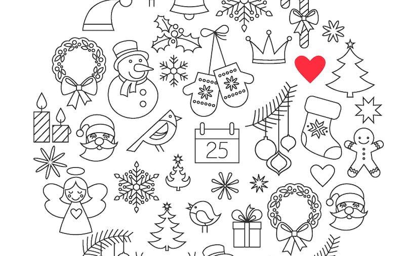 Coloriage des images de Noël