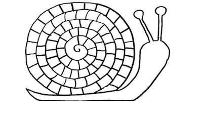 Coloriage Escargot Exercice Momes Net