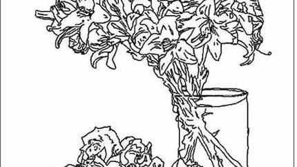 Coloriage Fantin-Latour