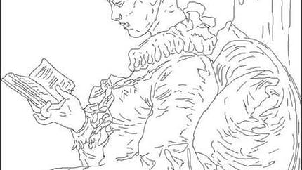 Coloriage Fragonard