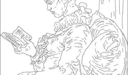 Coloriage Fragonard