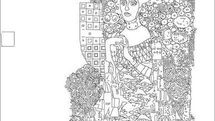 Coloriage Gustav Klimt