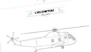 Coloriage hélicoptère