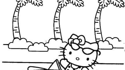 Coloriage Hello Kitty - 1