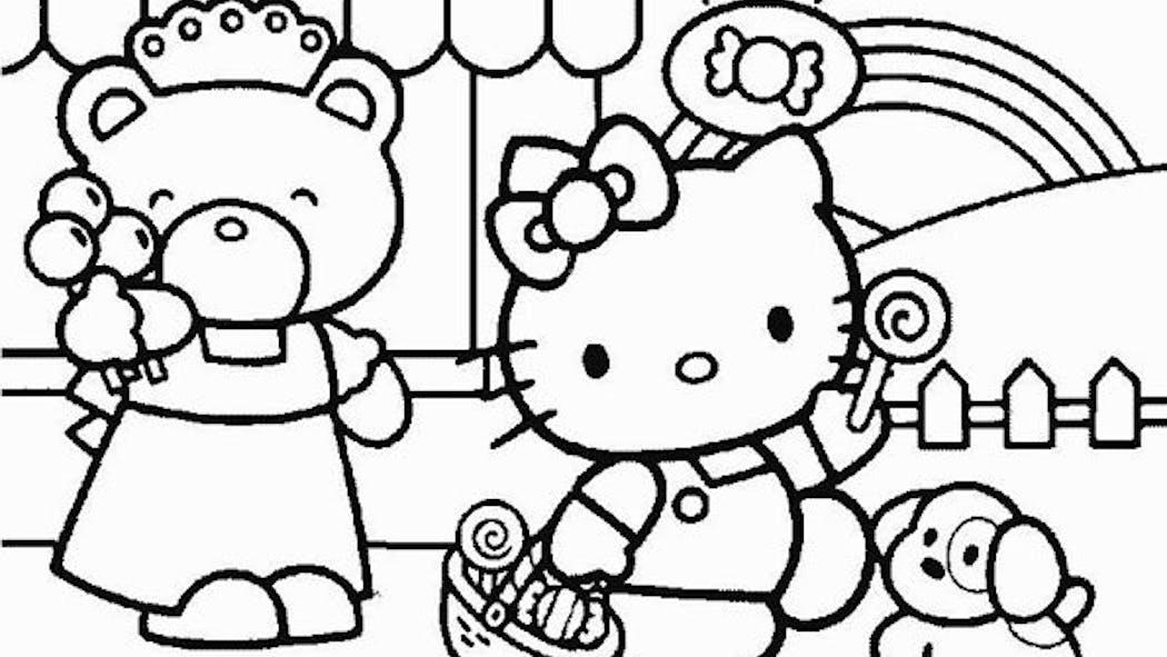 Coloriage Hello Kitty - 9