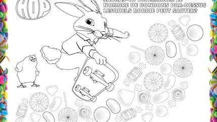 Coloriage Hop - 5