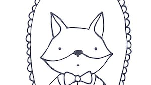 Coloriage le portrait de Mr Renard