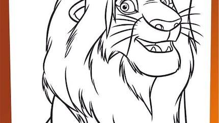 Coloriage Le Roi Lion (22)