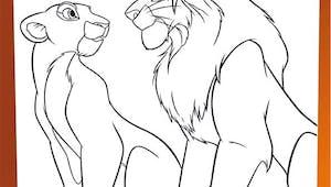 Coloriage Le Roi Lion (30)
