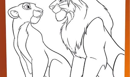 Coloriage Le Roi Lion (30)