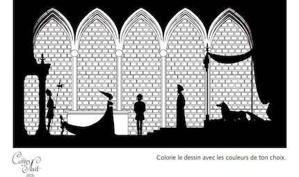 Coloriage Les Contes de la Nuit - 10