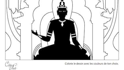 Coloriage Les Contes de la Nuit - 2
