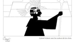Coloriage Les Contes de la Nuit - 6