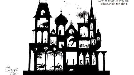 Coloriage Les Contes de la Nuit - 8