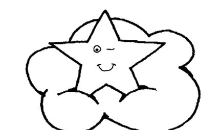 Coloriage les étoiles