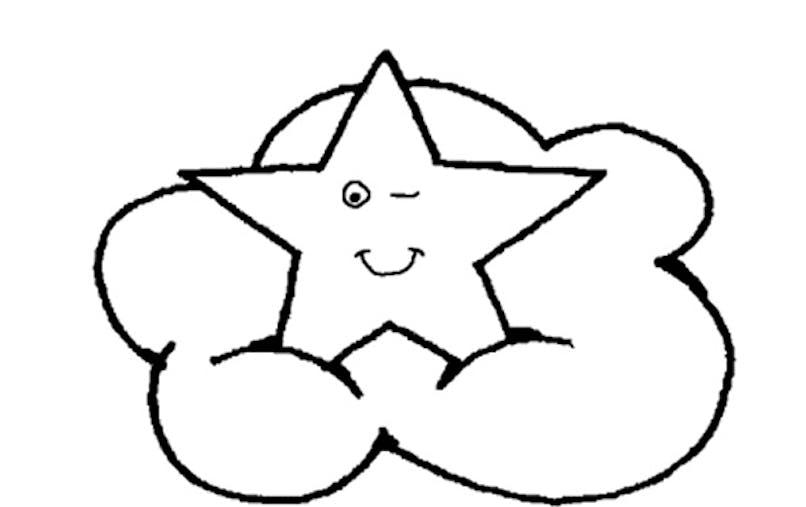 Coloriage les étoiles (2)