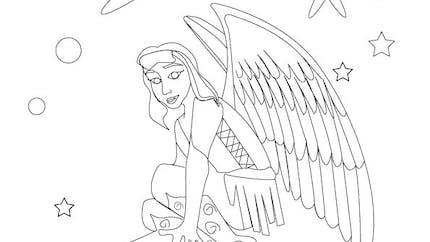 Coloriage les fées (3)