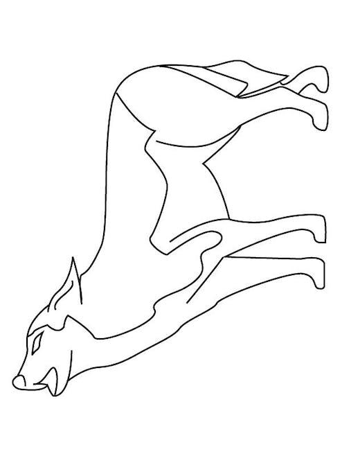 Coloriage les loups (3)