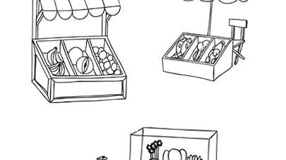 les petites marchandes