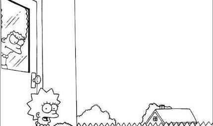 Coloriage Les Simpsons 2