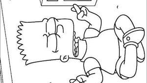 Coloriage Les Simpsons 5