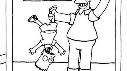 Coloriage Les Simpsons 9