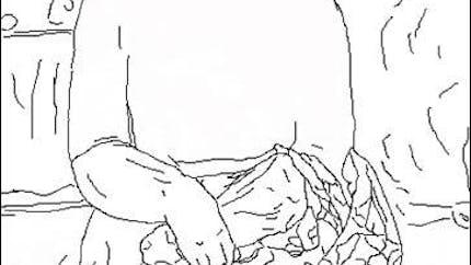 Coloriage Modigliani