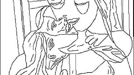 Coloriage Picasso